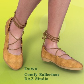 Comfy Ballerina Flats for Dawn