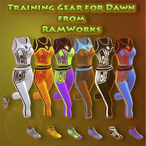 Training Gear for Dawn