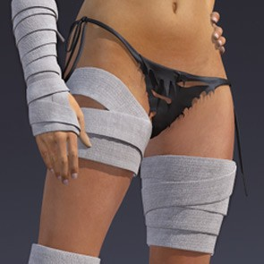Thigh Bandages for Dawn