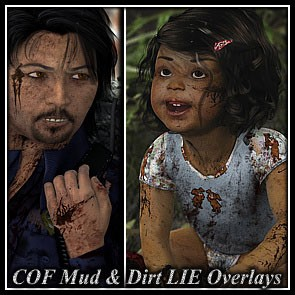 COF Mud & Dirt Overlays for Dusk, Dawn & Baby Luna