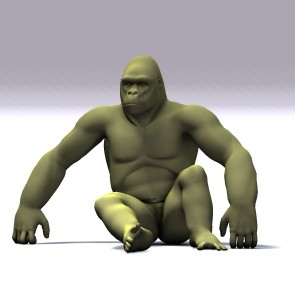 Bush Style Poses for Hivewire Gorilla