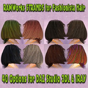 Strands for Fashionista Hair