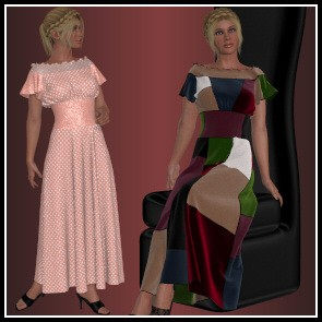 Dynamics 25 for Dawn - Patchwork Dress