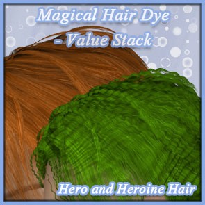 MHD for Hero and Heroine Hair Value Stack