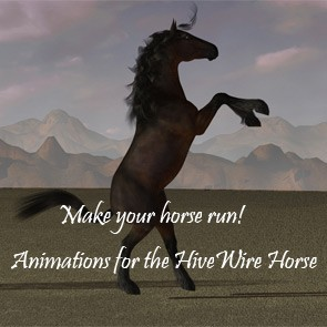 Animations for the HiveWire Horse