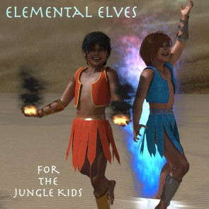 Elemental Elves for The Jungle Kids