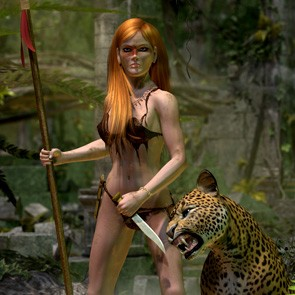 Jungle Huntress for Dawn