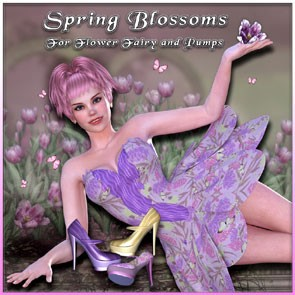 Spring Blossoms for Flower Fairy and Pumps