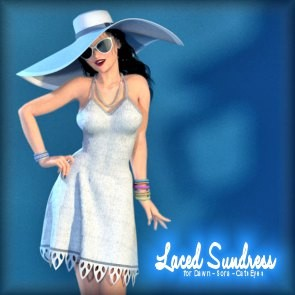 Laced Sundress for Dawn