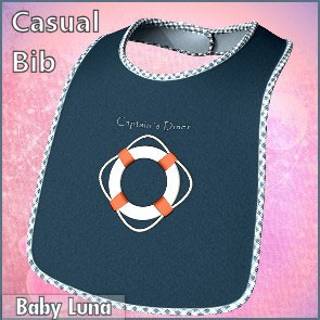 Casual Bib for Baby Luna