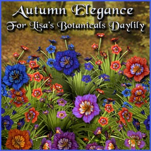 Autumn Elegance for Lisa's Botanicals Daylily