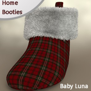 Home Booties for Baby Luna