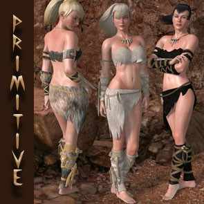 Primitive Textures for Savage Outfit