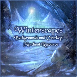 Winterscapes Backgrounds and Overlays MR