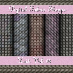 Digital Fabric Shoppe - Knits Vol 03