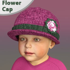 Flower Cap for Baby Luna