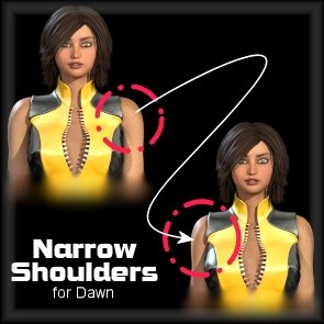 Narrow Shoulders for Dawn