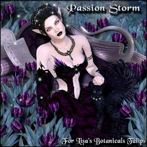 Passion Storm for Lisa's Botanicals Tulips