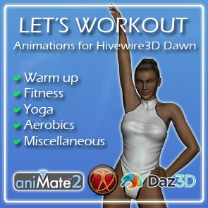 Let's Workout for Dawn