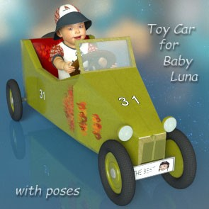 Toy Car for Baby Luna