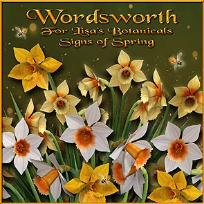 Wordsworth for Lisa's Botanicals Signs of Spring