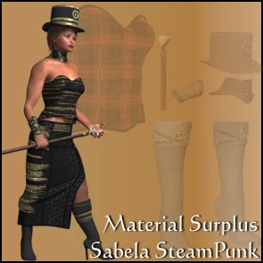 Sabela Steampunk Materials Surplus