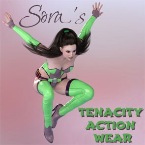 Sora's Tenacity Action Wear