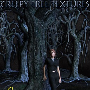 Creepy Trees Textures