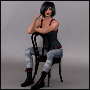 Urban Style 02 for Dawn's Jeans, Tank and Boots