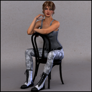 Urban Style 03 for Dawn's Jeans, Tank and Boots