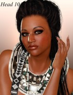 The Face of Africa Starter Head Presets
