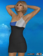 One Shoulder Dress 1 for Dawn