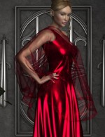 Holidays for Dynamic Evening Gown & Drape