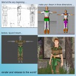 How to Make Clothing for Poser - a Step by Step Guide