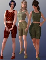 Laced & Lovely Set 1 for Basics 1 for Dawn - DAZ Studio