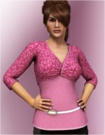 Pink LUV HeartThrob Top for Dawn