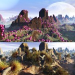 Matte Paintings Sci-Fi Landscapes