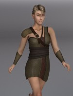 Woodland Outfit for Dawn - DAZ Studio