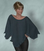 Frilled Poncho for Dawn