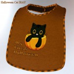 Halloween for Casual Bib for Baby Luna