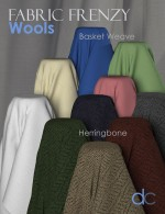 Fabric Frenzy-Wools PBR Textures & Poser Shaders MR