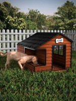 VolpeBox Dog House for the HiveWire Big Dog
