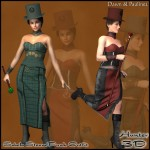Sebela Steampunk Outfit for Dawn and Pauline 2