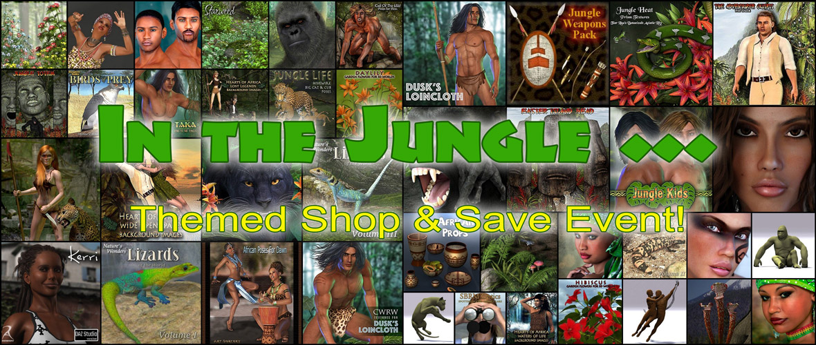 In the jungle, the mighty jungle ...
