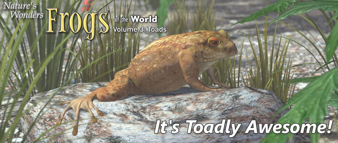 Nature's Wonders Frogs of the World Volume 3