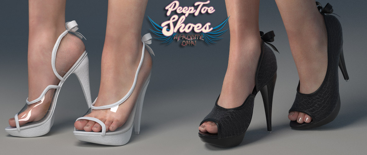 Peep Toe Shoes for Dawn