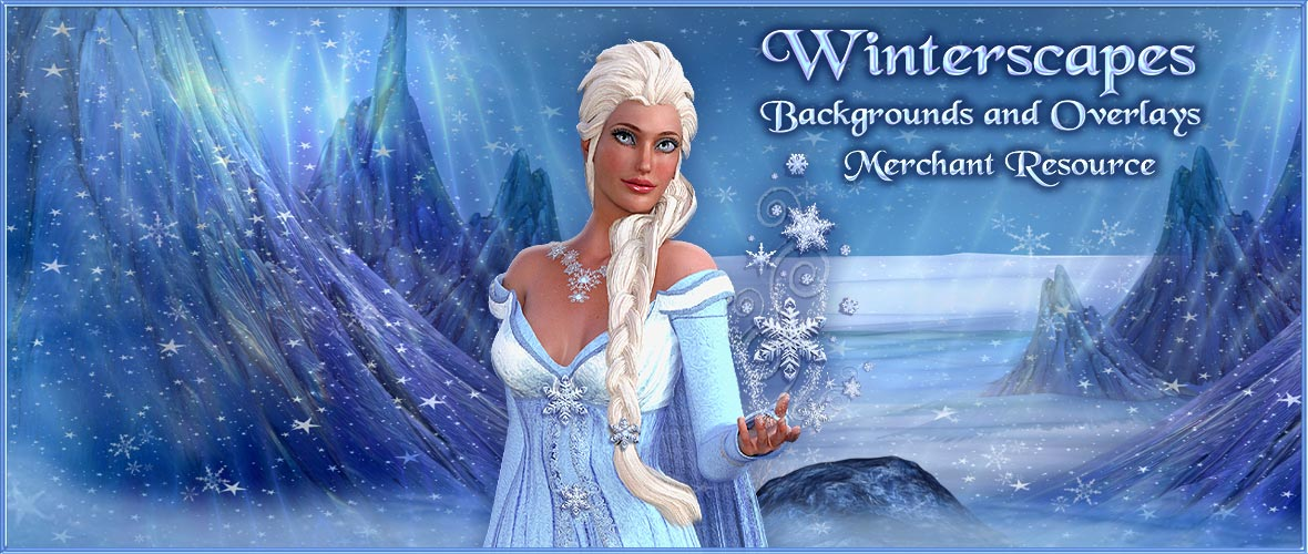 Winterscapes Backgrounds and Overlays Merchant Resource