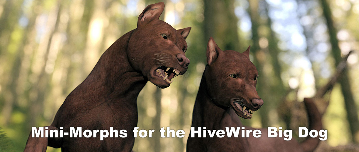 Mini-Morph Pack for the HiveWire Big Dog